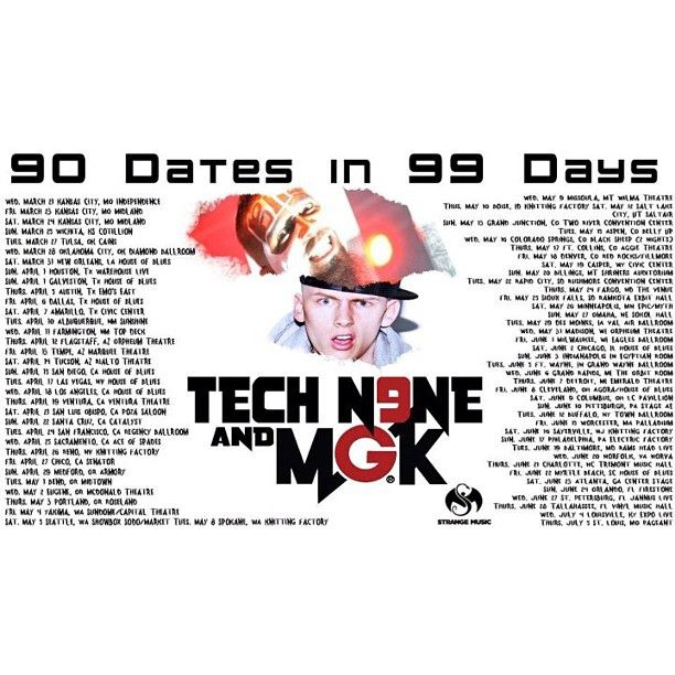 2012-01-09 I Shoot Reno featured in Tech N9ne tour poster