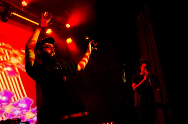 Das Racist @ Cargo in CommRow, Reno, NV 2012-04-03