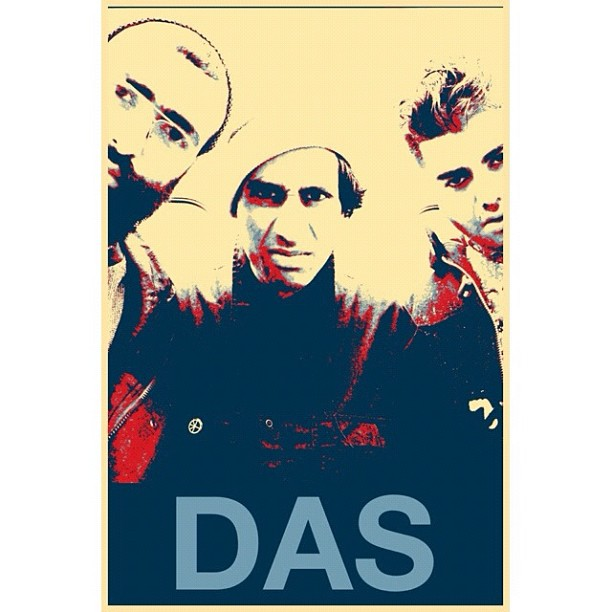 Das Racist | In the Style of Shepard Fairey