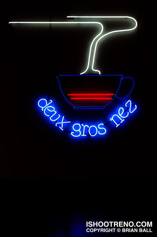 The Light Circus-Art of Nevada Neon Signs-Deux Gros Nez