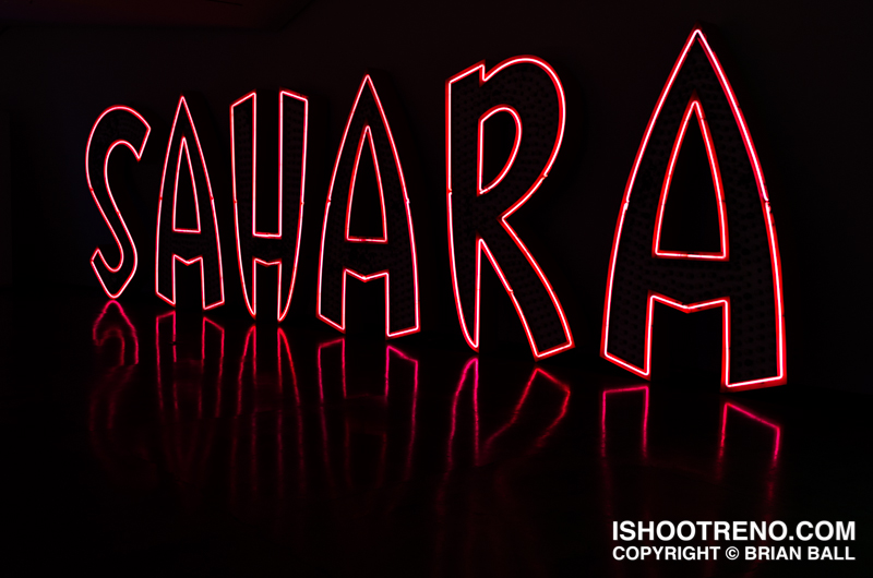 The Light Circus-Art of Nevada Neon Signs-Sahara Hotel and Casino