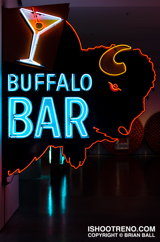 The Light Circus-Art of Nevada Neon Signs-Buffalo Bar